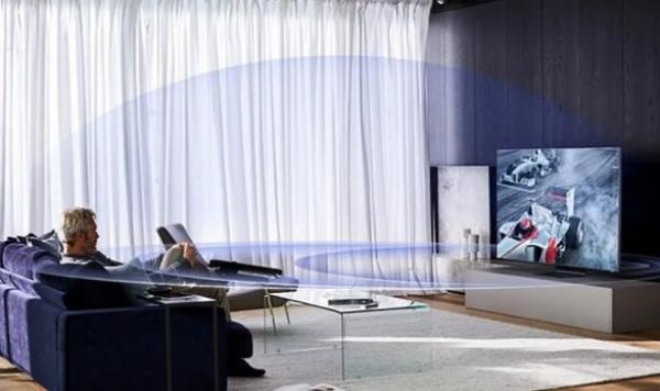 سامسونغ تكشف عن تلفاز ذكي بدقة تبلغ 4 أضعاف التلفزيونات السابقة