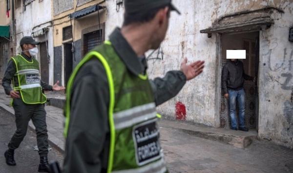 حالة الطوارئ الصحية بالمغرب تقود إلى إعتقال 4835 شخص
