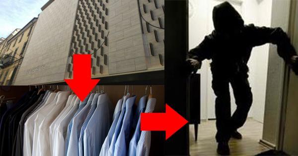 لص مغربي يجمع مسروقات ب21 ألف يورو من داخل محل ملابس ثم يغط في نوم عميق