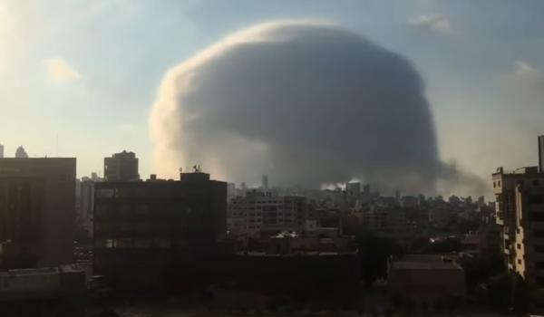 مقتل 10 أشخاص على الأقل  في انفجار كبير هز العاصمة بيروت ...ودعوات للتبرع بالدم (فيديو)