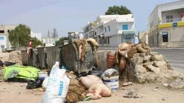 طنجة .. جمع نحو 9000 طن من النفايات