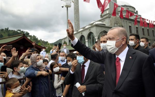 أردوغان: إلغاء حظر التجول وعودة تركيا للحياة الطبيعية