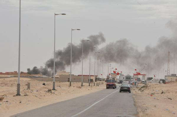 وتستمر الفبركة...الإعلام الجزائري يتحدث عن قصف وهمي عنيف للبوليساريو بالكركرات والحقيقة مضحكة بالفعل