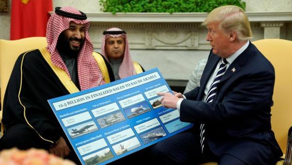 """بعد اشتعال الأوضاع في المنطقة...""""بن سلمان"""" يستنجد بالجيش الأمريكي و""""ترامب"""" يؤكد أن السعودية ستدفع بسخاء"""