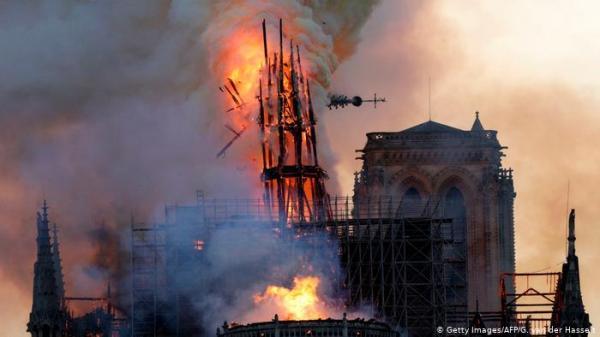"""الشيخ """"الكتاني"""" ينشر تدوينة """"غامضة"""" حول حريق كاتدرائية باريس ويتنبأ بـ""""مصيبة"""" قادمة"""