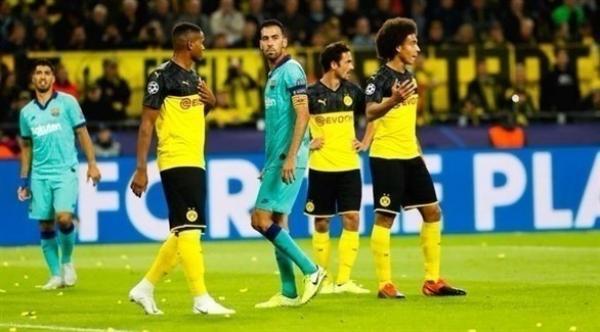 أبطال أوروبا: برشلونة ينجو من الخسارة بأرض دورتموند