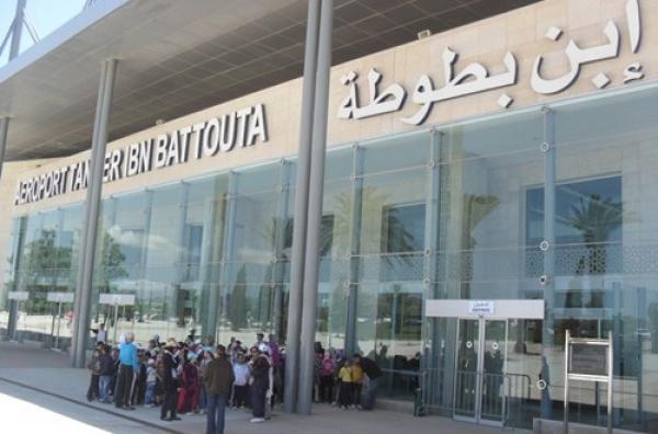 تراجع حركة النقل الجوي بمطار طنجة ابن بطوطة ب 64 في المائة خلال عام 2020