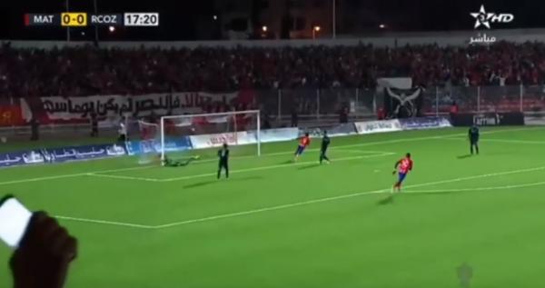 بالفيديو..شاهد هدف عالمي للمغرب التطواني في مباراة سريع واد زم