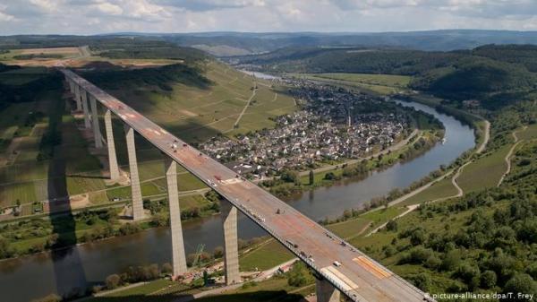 بعد ثماني سنوات من العمل.. افتتاح أحد أكبر جسور ألمانيا