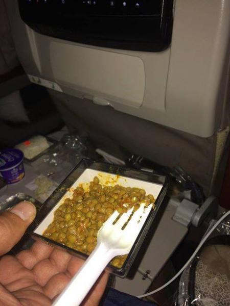 وجبة طعام على متن الخطوط الملكية المغربية