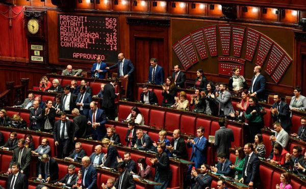 مجلس النواب الإيطالي يصوت رسميا على خفض عدد البرلمانيين ويوفر أموالا طائلة من الميزانية