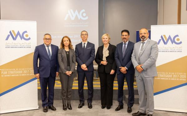 الهيئة المغربية لسوق الرساميل تقدم الحصيلة المرحلية للمخطط الاستراتيجي 2017-2020