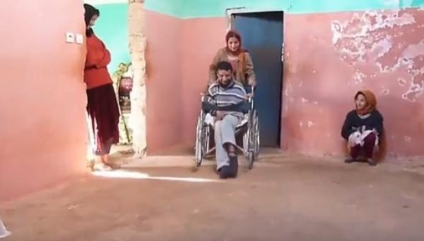 نداء إنساني:  معاناة مي يامنة مع 4 معاقين