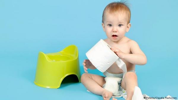 دراسة: براز الأطفال علاج لعدة أمراض!
