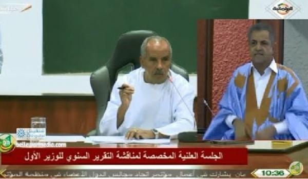 رئيس البرلمان الموريتاني يتهم نائبا بالعمالة للمغرب (فيديو)