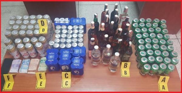 حيازة وترويج مشروبات كحولية بدون رخصة يقود شخصين للاعتقال بمراكش