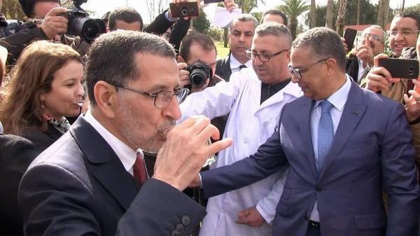 """رغم اعتراف الشركة..الحكومة ترد على تلوث مياه """"سيدي حرازم"""" بطريقة غريبة"""