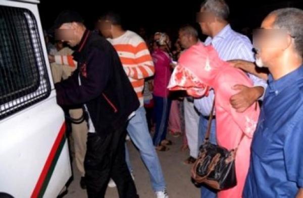الأمن يوجدة يداهم 4 منازل ويعتقل مغربيتين رفقة 90 مهاجرا إفريقيًا