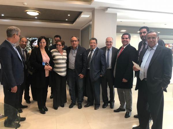 """في ذكرى المسيرى الخضراء..حزب """"الغزالة"""" يعقد اجتماع مكتبه السياسي وهذا ما دار فيه"""