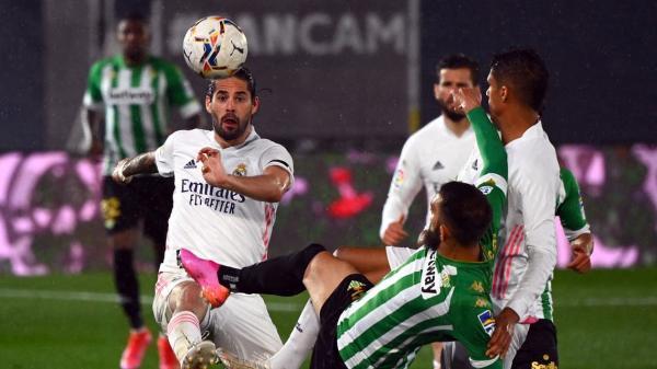 ريال مدريد يسقط في فخ التعادل مع بتيس