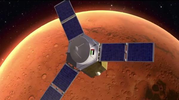 """الاعلان عن وصول أول مسبار """"عربي"""" الى كوكب المريخ"""