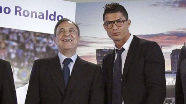 """رئيس ريال مدريد """"يُهين"""" كريستيانو رونالدو بهذا التصريح !"""