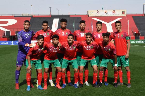 كأس العرب: تأهل المنتخب المغربي إلى الدور الثاني