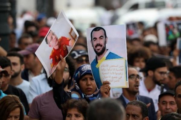 """معتقلو """"حراك الريف"""" يعتزمون الدخول في إضراب عن الطعام بعد رفض مطالبهم"""