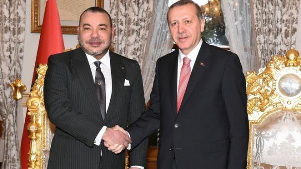 الرئيس التركي أردوغان يهنئ الملك محمد السادس بمناسبة عيد العرش المجيد