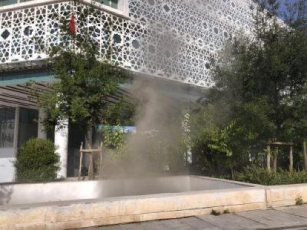"""حريق بالمركز التجاري """"الرباط سانتر"""" بعد أسبوعين على افتتاحه (صور+فيديو)"""
