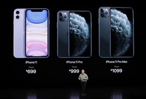 أبل تكشف عن آيفون11  بثلاث كاميرات و سعر تنافسي