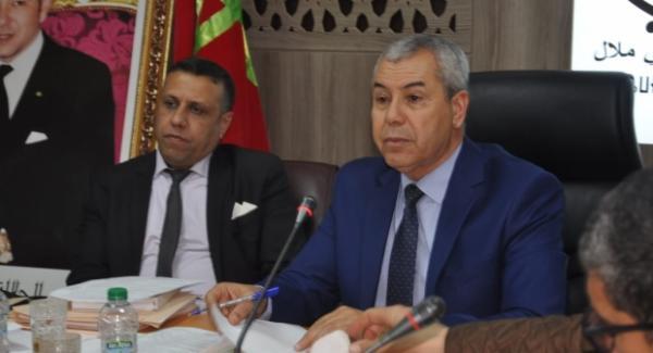 """""""أحمد بدرة"""" يفوز برئاسة المجلس الجماعي لبني ملال"""