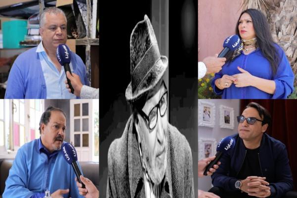 في وداع الفنان المحجوب الراجي : فنانون مغاربة يستحضرون لحظات مؤثرة من حياة الراحل (فيديو)