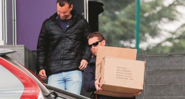 الشرطة تداهم نادي أندرلخت واتحاد الكرة البلجيكي