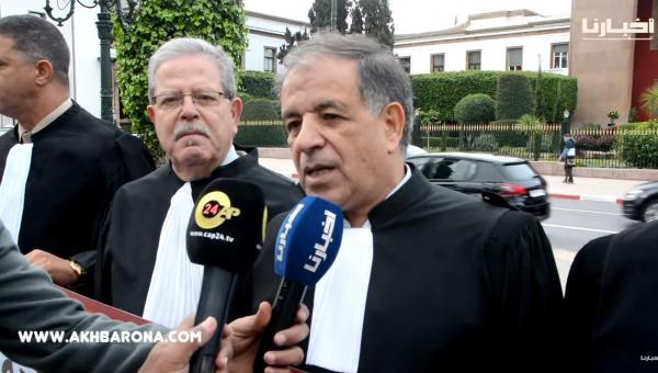 """هيئات المحامين تحتج أمام البرلمان بسبب """"المادة 9"""""""