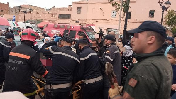 عاجل... انتشال جثة أم من تحت الأنقاض ونجاة 3 من أبنائها في انهيار منزل ببني ملال