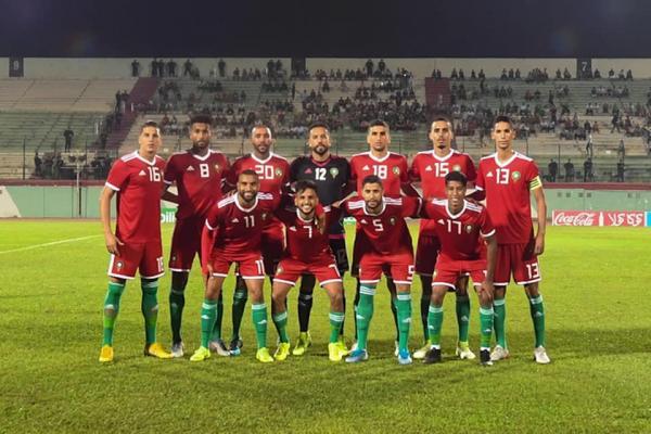 المنتخب المغربي المحلي يفوز على غينيا وديا بثلاثية (فيديو)