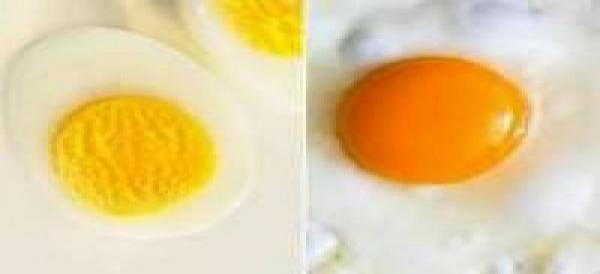 أيهما أكثر فائدة البيض المسلوق أم البيض المقلي