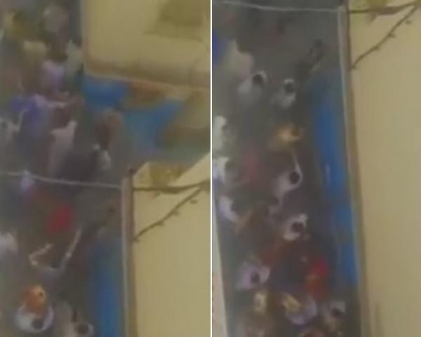 بالدقة المراكشية .. شبان يخرجون للاحتفال بعيد الفطر في طنجة والأمن يتدخل (فيديو)