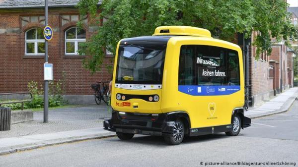 برلين تختبر أول حافلة ذاتية القيادة في النقل العام