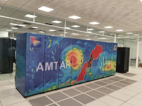 """المغرب يشرع في التشغيل النهائي ل""""أمتار"""".. أقوى حاسوب على مستوى مراكز الأرصاد الجوية بأفريقيا"""