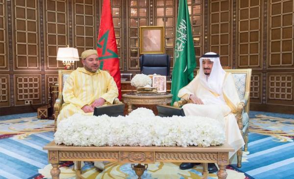 """رسميا...الملك """"محمد السادس"""" يحل بالسعودية في زيارة عمل وصداقة"""