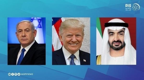 غريب ... اتفاق تاريخي بين الإمارات وإسرائيل برعاية أمريكية
