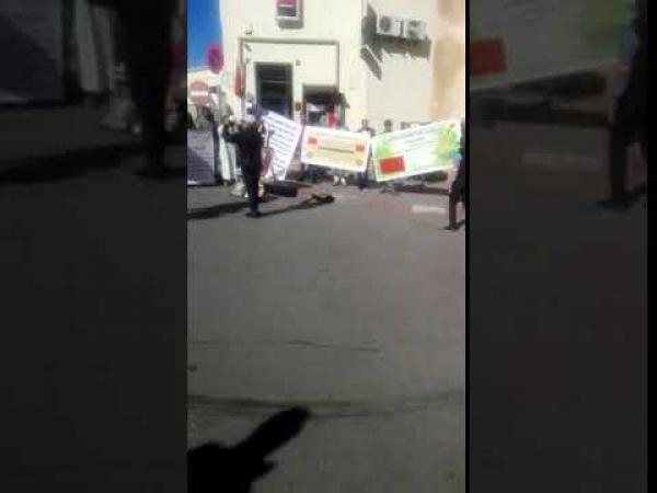 بالفيديو:المرشدون السياحيون يحتجون في قلب مدينة فاس