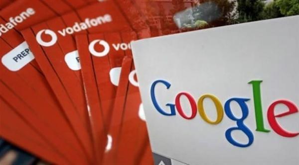 فودافون وغوغل يخططان للتعاون في تحليل البيانات