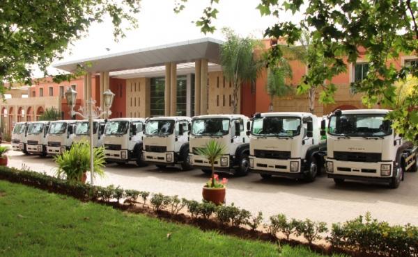 اقتناء 15 شاحنة صهريجية لتزويد العالم القروي بالماء الصالح للشرب بأقاليم جهة بني ملال خنيفرة