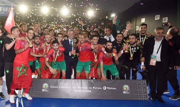 المنتخب المغربي يهزم نظيره المصري بخماسية ويفوز بكأس إفريقيا للأمم (فيديو)