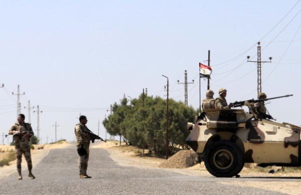 """القضاء على 16 """"إرهابيا"""" على خلفية تفكيك خليتين""""إرهابيتين"""" شمال مصر"""