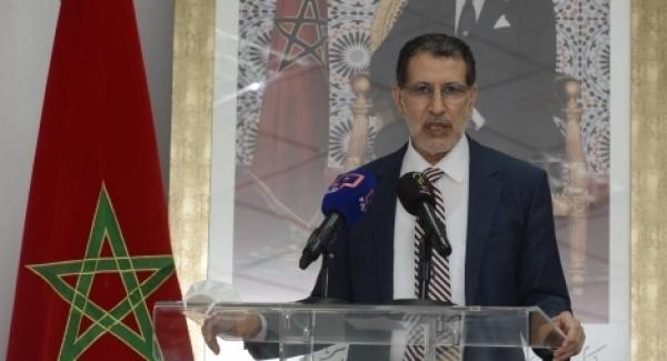"""العثماني يجدد موقف """"العدالة والتنمية"""" الداعم لقضية فلسطين"""