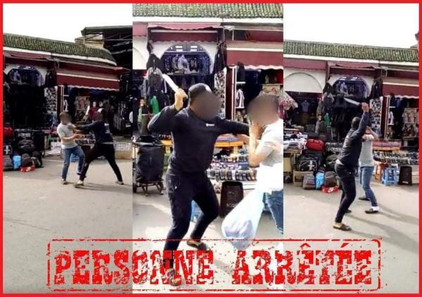 أمن البيضاء يتفاعل مع فيديو إعتداء جسدي باستعمال السلاح الأبيض بالقريعة